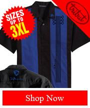 Tribut's Fan Inspired Blues Guitar Shirt